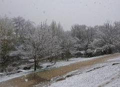 Neige Auriol 13390 Auriol sous la neige 21.03.2018