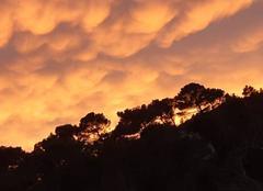 Nuages Saint-Remy-de-Provence 13210 Nuages du soir