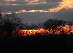 Ciel Bonnemaison 14260 Coucher de soleil sur le bocage