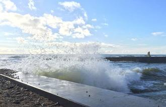 Nuages Brem-sur-Mer 85470 Les vagues se mêlent aux nuages