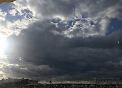 Nuages Cannes 06400 Ciel orageux