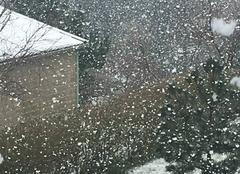 Neige Baubigny 50270 2ème salve de neige en 15 jours !