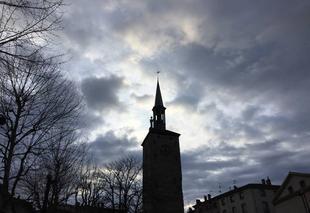 Ciel Mours-Saint-Eusebe 26540 Ciel cotonneux de fin d'après-midi