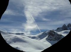 Ciel Ceillac 05600  nuage