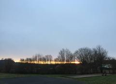 Ciel Marles-les-Mines 62540 Lever du soleil