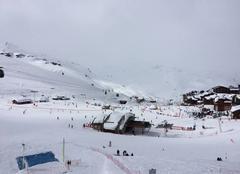 Nuages Val-Thorens 73440 Blanc