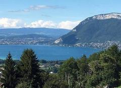 Insolite Saint-Jorioz 74410 Annecy vue du Col de la Magne Saint Jorioz