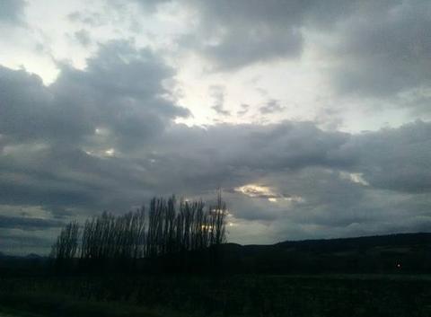 Pluie en vue