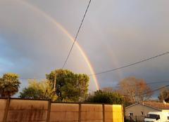 Nuages Lansac 33710 Arc en ciel