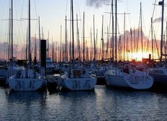 Mer La Rochelle 17000 Coucher de soleil