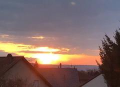 Ciel Marly 57155 Coucher de soleil
