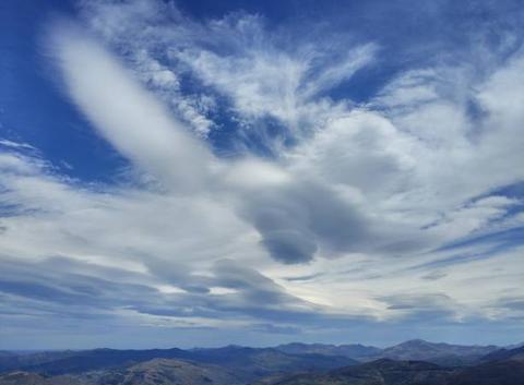 Nubes sobre el Baztan