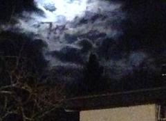 Nuages Seichamps 54280 Pleine lune de Pâques
