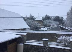 Neige Vesly 27870 Avant l?arc en ciel la neige par charlie