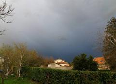 Nuages Montbrison 42600 Couleur d'orage