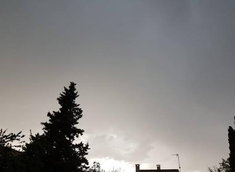 Orage pluie