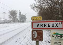 Neige Arreux 08090  Ville d ´Arreux