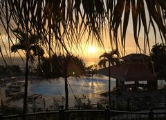Ciel Sao Martinho Coucher de soleil à Madère, hôtel Pestana Royal de Funchal
