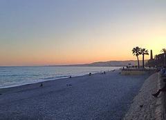 Ciel Nice 06000 Coucher de soleil