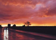 Pluie Courthezon 84350 Orage à Orange