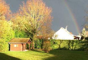 Orage Bessey-les-Citeaux 21110 Arc en ciel
