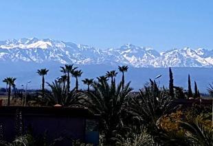 Neige Marrakech Beauté de l Atlas