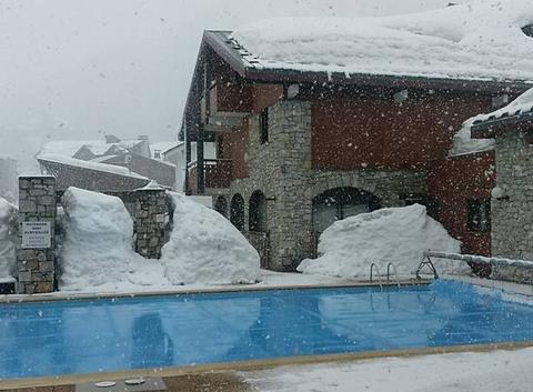 Neige à Val d'Isère