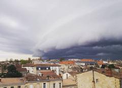 Ciel Bordeaux 33000 Arrivée de l?orage