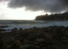 Mer Carqueiranne 83320 Arrivée de l orage