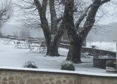 Neige Bargème 83840 Retour de l?hiver