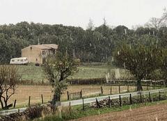 Ciel Simiane-la-Rotonde 04150 Giboule de neige