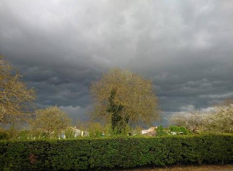 Orages en Vendée