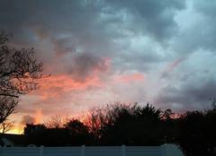 Ciel Saint-Hilaire-de-Riez 85270 Ciel rouge le soir