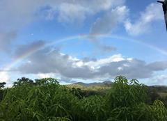 Ciel Riviere-Salee 97215 Arc en ciel en Martinique
