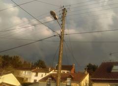 Nuages Marly-la-Ville 95670 Ciel d' orage