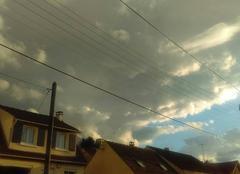 Nuages Marly-la-Ville 95670 Ciel menaçan