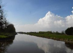 Nuages Frossay 44320 Canal de la Martinière
