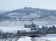 Neige Verdigny 18300 Sancerre sous la neige