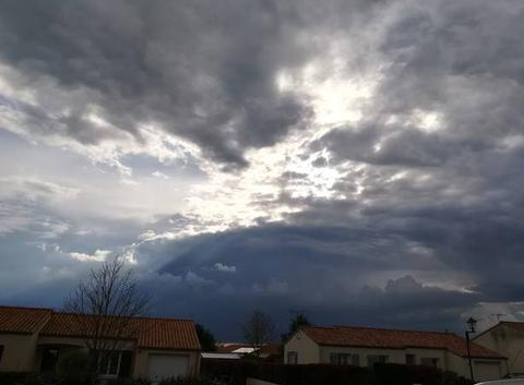 Un orage passe