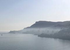 Brouillard Roquebrune-Cap-Martin 06190 Pollution dur monaco????
