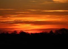Ciel Bonnemaison 14260 Lever de soleil