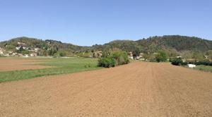 Ciel Mours-Saint-Eusebe 26540 Le printemps en campagne