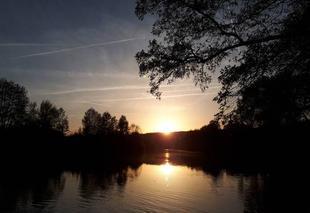 Ciel Crouttes-sur-Marne 02310 Coucher de soleil