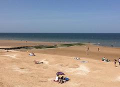 Mer Cabourg 14390 Beau temps