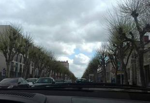 Ciel Bordeaux 33000 Temps nuageux