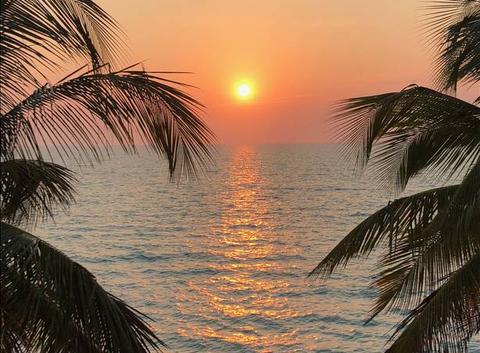Un coucher de soleil de carte postale - Campeche - Mexique