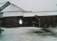 Neige Bosguerard-de-Marcouville 27520 Neige le 30 Avril