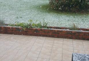 Neige Montaure 27400 Neige le 30 avril