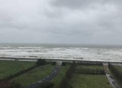 Tempête Vierville-sur-Mer 14710 Vierville sur mer