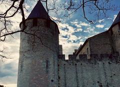 Ciel Carcassonne 11000 Fin de journée